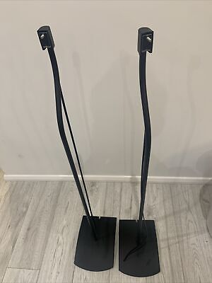 1 Pair Of Bose UFS-20 Accoustimass Speaker Stands In Black X 2 Stands • 49.90£