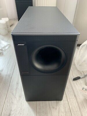 Accoustimass 5 Series 3 III  2 X Bose Lifestyle Jewel Cube Speakers Black Double • 119£