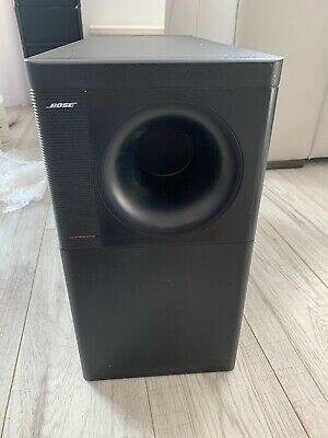 Accoustimass 5 Series 3 III  2x Bose Lifestyle Jewel Cube Speakers Black Double • 119£