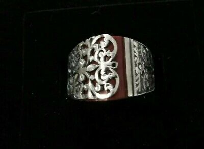 £45 • Buy Aqeeq Jade 925 Sterling Silver Ring Mens Rings /Turkish / Ottoman Rings ONE SIZE
