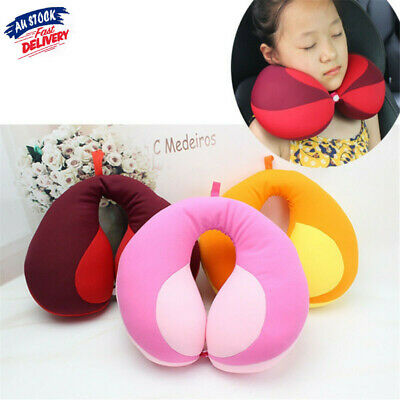 AU17.39 • Buy Kid Pillow Kids Newbron Travel Neck Pillow U-Shape For Car Headrest Air Cushion
