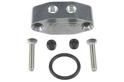 AU49.95 • Buy LS LS1 LS2 LS3 L98 1/8 Dual Outlet Oil Feed Adapter Plate 90 Degree
