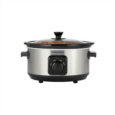 Morphy Richards 460017 3.5L Ceramic Slow Cooker - Package Damaged • 14.90£