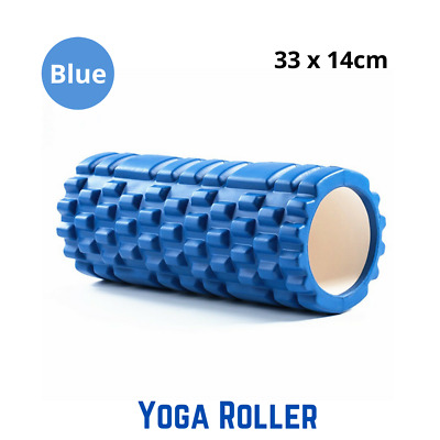 AU16.69 • Buy EVA PVC Foam Yoga Roller Physio Pilates Gym Back Training Exercise Massage Grid