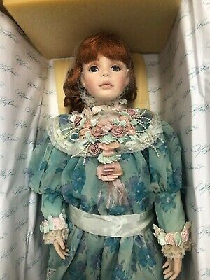 "$ CDN39.19 • Buy Porcelain Victorian  Certificate Limited Edition Doll By Mary Brenner ""Chloe """