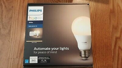 AU65.23 • Buy Philips Hue Bulb Starter Kit White 530337