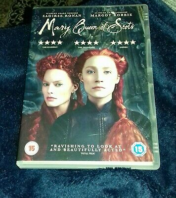 Mary Queen Of Scots (DVD) 2018 - Pre-owned Very Good Condition  • 2£