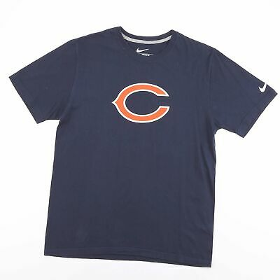 NIKE CHICAGO BEARS American Football 90 Peppers Blue T-Shirt Size Men's Large • 9.95£