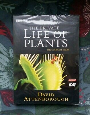 David Attenborough: The Private Life Of Plants (BBC 2-Disc DVD) *New & Sealed* • 8.97£