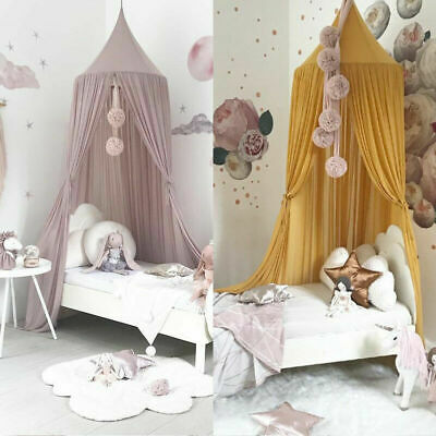 £22.99 • Buy UK Kids Baby Bed Canopy Bedcover Mosquito Net Princess Curtain Bedding Tent Dome
