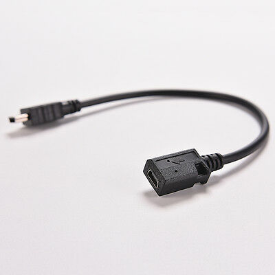 Mini USB 5 PIN Male Plug To Female Jack Extension Data Adapter Cord Ca KY W7 • 3.67£