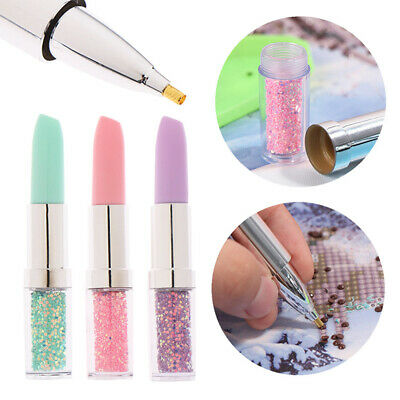 AU9.99 • Buy Point Drill Pens Diamond Painting Pen DIY Cross Stitch Crafts Sewing Tool