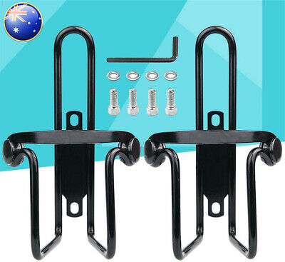 AU11.50 • Buy 2x Bike Cup Holder Cycle Beverage Water Bottle Cage Mount Bicycle Drink Aluminum