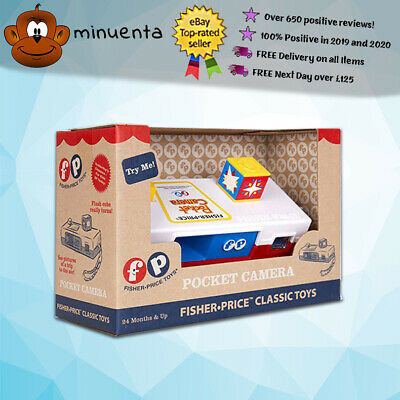 Fisher Price Classics | Classic Pocket Camera | Tactile Learning | 35mm Camera • 12.99£