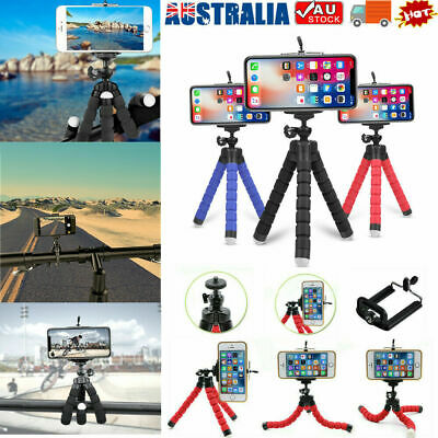 AU5.96 • Buy Camera Phone Holder Flexible Octopus Mini Tripod Stand For IPhone And Others AU