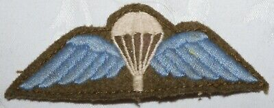 Ww2 Parachute Jump Wing (british Army Paras) Badge Patch World War Ii Military  • 0.99£