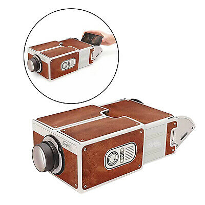 Portable Home Cinema Projector In A Box For IPhone/Android Phone Videos Movies • 11.57£