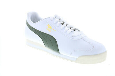 AU74.99 • Buy Puma Roma Basic + 36957123 Mens White Synthetic Lifestyle Sneakers Shoes