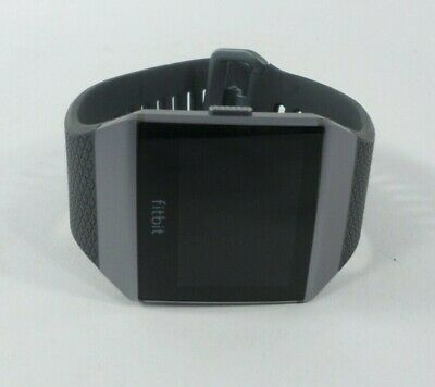 $ CDN112.47 • Buy Fitbit Ionic GPS Smart Watch, Charcoal/Smoke Gray, One Size S & L Bands *Defect*