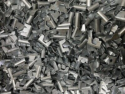 £9.95 • Buy 100 Wire Mesh Clips - Gabions, Cage Making, Fencing, Mesh Panels Clinch Clips