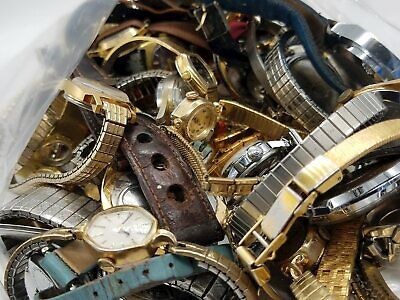 $ CDN81.01 • Buy Vintage Watch Lot For Parts/ Repair SSS438 Os
