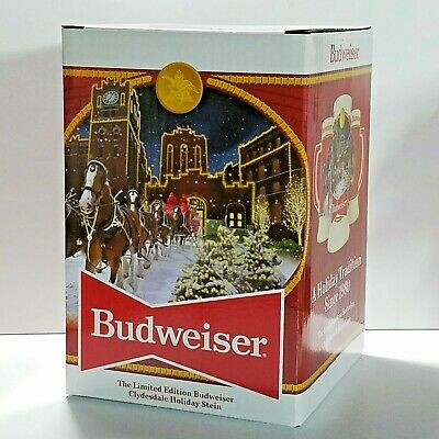 $ CDN33.67 • Buy 2020 Budweiser Limited Edition Holiday Stein Clydesdale 41st Anniversary