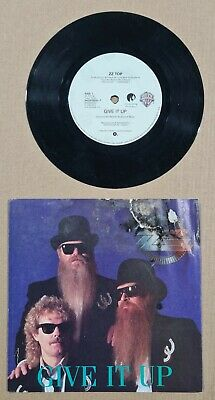 £7.93 • Buy ZZ TOP GIVE IT UP 45 7  1990 PICTURE SLEEVE - DAMAGED FRONT PICTURE Disc Good