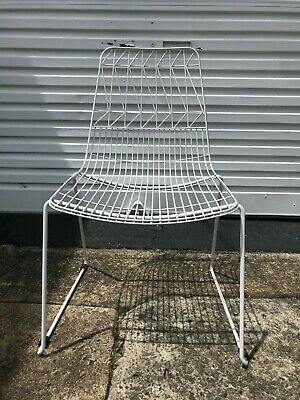 AU45 • Buy White Wire Chairs
