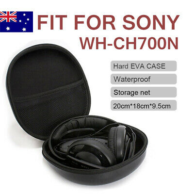 Portable Headphones Hard Case Cover Bag Box For SONY WH-CH700N Black  • 7.46£