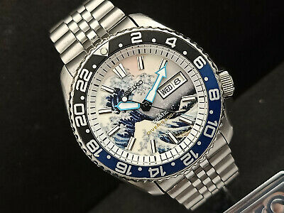 $ CDN225.82 • Buy Seiko Diver 7s26-0020 Skx007 The Great Wave Of Kanagawa Automatic Watch 765983
