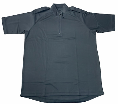 £8.95 • Buy Male Black Breathable Wicking Shirt With Epaulettes Security Dog Handler