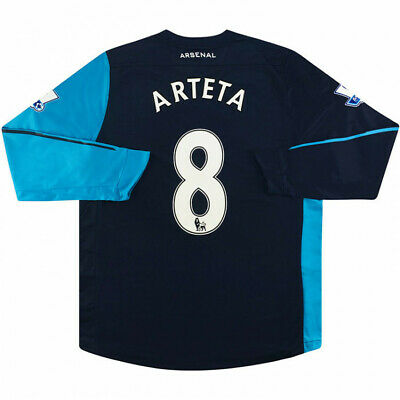 Puma - Arsenal FC 2011-12 Mikel Arteta Player Issued Away Football Shirt -BNWT • 149.99£