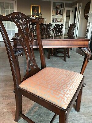 $4500 • Buy Henredon Mahogany Dining Room Set; excellent Cond., 10 Chairs - 2 Arm, 8 Side