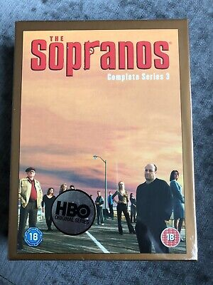 The Sopranos - Complete Series 3 DVD - 4 Disc Collectors Edition New & Sealed • 8£