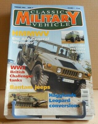 Classic Military Vehicles - HMMWV The AM General Hummer - Volume 1 Issue 9 • 4.95£