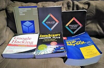 £71.59 • Buy Computer Programming, Modeling And Design, And Google Hacking Books