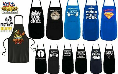 £7.59 • Buy New Unisex Adult Aprons Chefs Novelty Butchers Funny Kitchen Bbq Party Cooking