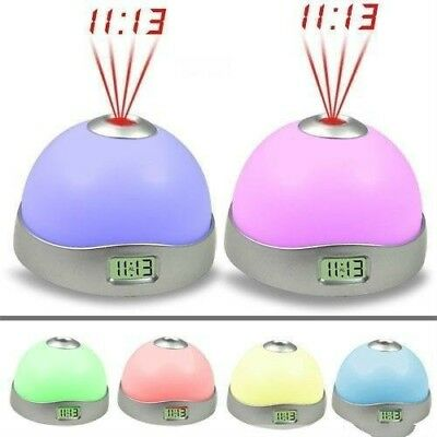 Projection Clock LED Clock Alarm Clock Projection Light Colorful S3X • 7.79£
