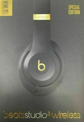 Beats By Dr Dre Studio3 Wireless Headphones - Shadow Gray Brand New And Sealed • 129.99£