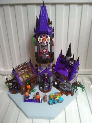 Scooby Doo Mystery Mansion Building Brick Kit Unbranded Pic Is Display Model • 55£