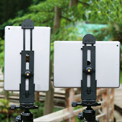 AU13.03 • Buy IPad Phone Tablet PC Stand Tripod Mount Adapter Adjustable Clamp Holder AU NEW