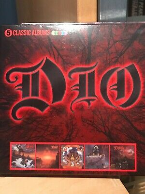 DIO - 5 Classic Albums Set - Holy Diver  Last In Line  Sacred Heart    Like New • 8£