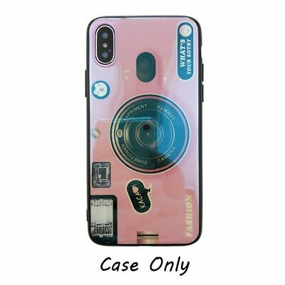 AU9.12 • Buy Camera Case With Pop Up Holder Phone For Iphone 12 Pro Max 11 8 Plus XS XR Cases