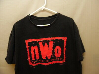 $ CDN37.60 • Buy Men's Vintage (c)1998 NWO New World Order Wrestling T-shirt  (k938)
