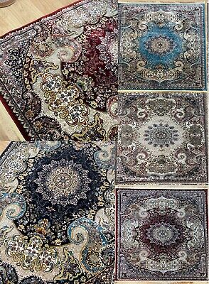 £39.99 • Buy Traditional Rug Classic Floral  Design Timeless Any Room Soft Anti Slip