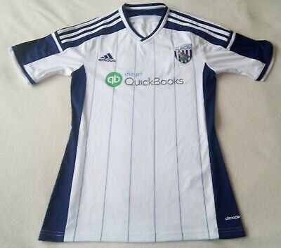 2014 West Bromwich Albion Home Football Shirt • 10£