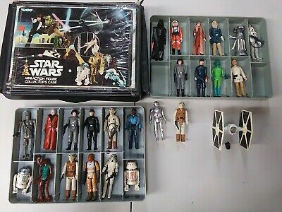 $ CDN103.21 • Buy Original Vintage Star Wars Figure LOT W/accessories ALL Are COMPLETE WITH CASE