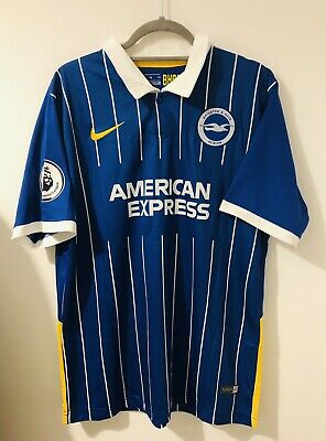 Brighton And Hove Albion Football Shirt 2020 2021 Size L/XL Maupay BNWT • 19.99£