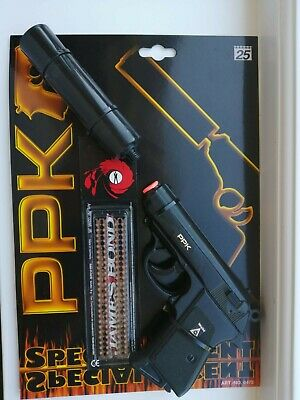 Toy Wicke Ppk Cap Gun With 200 James Bond Caps Rare FREEPOST Brand New  • 40£