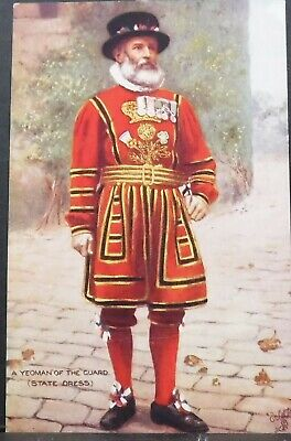 Postcard Tuck 9221 Yeomen Of The Guard - State Dress British Army Military • 1.99£